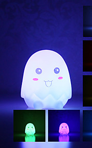Eggeskall Shaped Fargerike LED Night Light