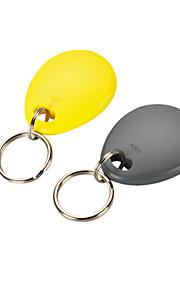 100pcs abs SNV-typen nøglering kort (fob tag em-format)
