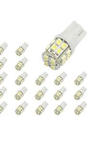 10 x T10 20-SMD 1210 Hvid LED billygter Pære 194 168 2825 W5W