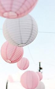 結婚式の装飾中国の丸提灯(もっと色)