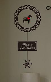 Holiday Pony Merry Christmas Wall Tarrat