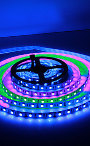 5M 30W 60x5050SMD RGB-lys LED Stripelys (DC12V)