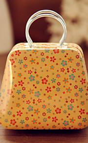 Håndtaske Tin Box Desktop Opbevaring Box (Yellow Shivering)