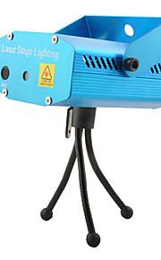 Verde Control de aleación de aluminio de Voz / Red Laser iluminación escénica