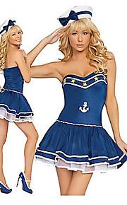Alluring Ink Dziewczyna Blue Anchor Zarejestruj Naval Uniform