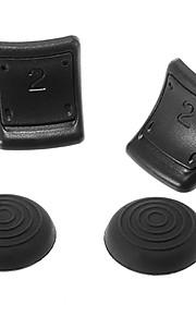 R / L Dual Triggers Enhancement Non Slip voor de PS3-controller (zwart)