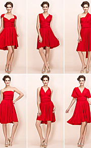 Homecoming Cocktail Party/Wedding Party Dress - Ruby Plus Sizes Sheath/Column Knee-length Jersey