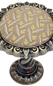 レトロなヨーロッパの古典ブロンズひまわりの形状ホールドバック(1ペア)