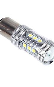 80W 1157 BAY15D 16 * OSRAM LED Car Staart Brake Stop Light Bulb Lamp