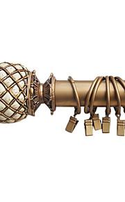 Stylish Solid Gold Roma Estilo Clipe Anel - 10 Pedaço (diâmetro 3,7 cm)