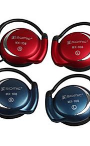 클립 - 온 컴퓨터 용 마이크와 헤드폰 (분류 된 색깔)