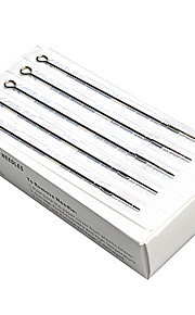 50Pcs  Disposable Sterile Tattoo Needles Mix Sizes