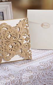 Wedding Invitation Laser Cut Tri-fold(Set of 50)