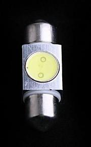 1. High Power 1W 31mm hvid LED Bil interiør dome guirlande Lampe
