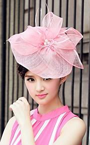 Chapeau Casque Lin Femme/Jeune bouquetière