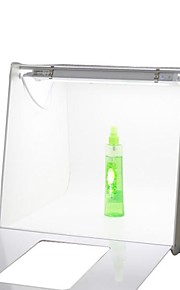40 * 40 centimetri Quadrato Mini Photo Studio Kit Fotografia Light Box Photo Box per Cosmetici Orologio Cellulare Giocattoli con Scenografia