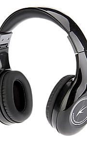 Koniycoi KT-4300MV Sammenleggbar Stereo On-Ear hodetelefon med mikrofon og fjernkontroll