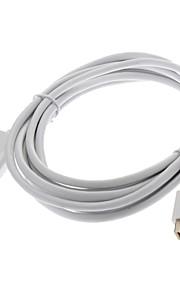 Mini Displayport Male til HDMI Male 32AWG OD4.8mm Ultralyd Kabel for MacBook Air / Pro / Pro Retina (300cm)