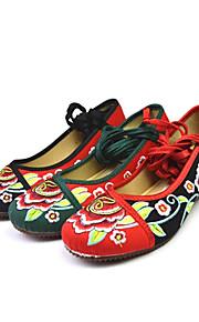 Satin des femmes avec le ruban chaussures de danse Ballroom chaussures d'appartements (plus de couleurs)