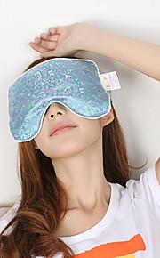 Lavendel Hot Compress og Ice Rimer Anstrengte Ease Eye Patch (tilfeldig farge)