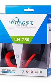 LOTONG LH-750 Computer Stereo Gaming Headset met Noise Reduction-Microfoon