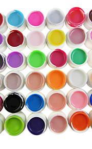 36-Color zuivere kleuren 8ml Nail Art UV Builder Gel voor Manicure Nails Tips