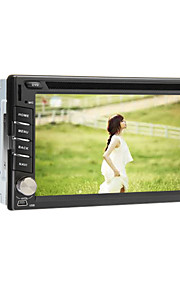 6,2 tommer Android 4.1 2DIN In-Dash Bil DVD-afspiller med GPS, 3G, WiFi, iPod, RDS, BT, TV, Multi-Touch Kapacitive