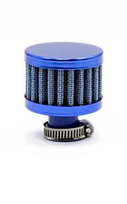 TIROL Universele ronde verminderde Auto Mini Cold Air Intake 12mm Auto Air Filters Blue