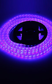 Vanntett 5M 72W 300x5050SMD RGB lys LED Strip lampe (DC 12V)