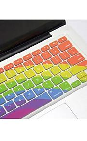 """coosbo® silicone camo pelle della copertura della tastiera per 13,3 """", 15,4"""", 17 """", aria macbook pro / retina (colori assortiti)"""