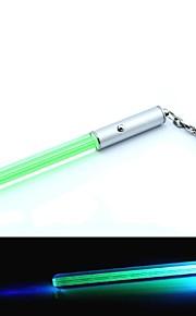 Mini Lightsabre LED Keychain (4 x AG3, vert)