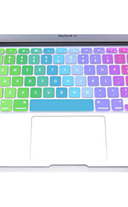 "coosbo® coloré clavier en silicone peau de couverture de protection pour 11 "", 13"", 15 "", 17"" MacBook Air mac pro rétine"