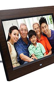 Marco de madera digital de 10.1 pulgadas foto HD con la tarjeta de memoria de 4g