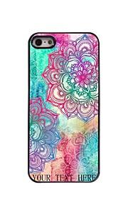 מקרה עיצוב מתכת פרח אלגנטי מתנה אישית ל5 / אייפון 5s