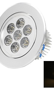 LUO 7 W 7 High Power LED 300 LM Warm White C Decorative Ceiling Lights AC 85-265 V
