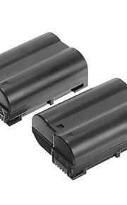 OEM-Nik EN-EL15 1900mAh 7V Batteries for Nikon D7000/D7100/1V1/D800/D800E/D600/P520/P530(2 batteries)