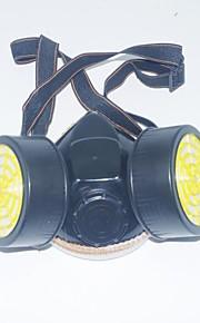 aktivt kul dobbelt kemisk gas respirator støvfiltermaske