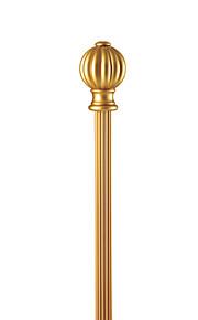28ミリメートル径のスタイリッシュなゴールドのアルミ片ロッド