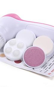 5-i-1 elektrisk ansiktspleie elektrisk ansiktsskrubb hud massasje renere