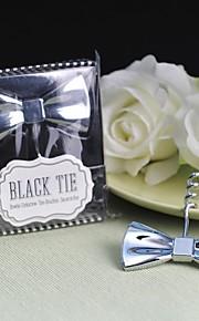 """cadeau groomsman tire-bouchon bow-tie """"cravate noire"""""""