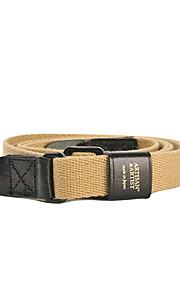 ACAM-100 Nylon+Genuine Leather Anti-slip Camera Strap