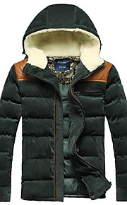 Men's Hooded Coat Jacket