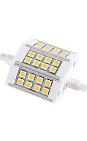 r7s graduables 5W 24x5050smd 330lm chaude lumière blanche / fraîche Ampoule LED de maïs (220-240V)