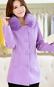 Women's Slim Long Sleeve Coat