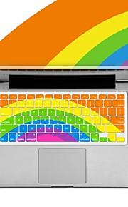 XSKN regenboog siliconen toetsenbord beschermhoes voor Apple MacBook Air / macbook pro / macbook pro retina