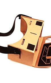 """DIY Google Cardboard Virtual reality VR Mobile Phone 3D Glasses with NFC Tag for 4-4.5"""" Screen"""
