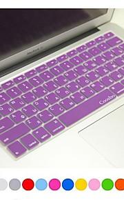 """coosbo® Russisch huid van de dekking siliconen toetsenbord voor 13 """"/ 15"""" / 17 """"MacBook Air Pro / netvlies (diverse kleuren)"""