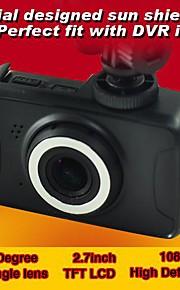 "2,7 ""LCD Full HD 170 ° 1080p bil kamera DVR videokamera bevægelsesdetektering fil låsning iShare HCR-3551"