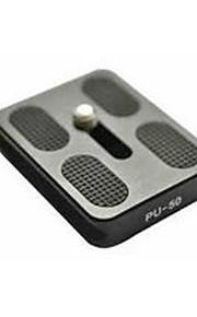 Induro pu-50 bhd0 bhd1 cantilever tête de trépied de la plaque de chargement rapide avec