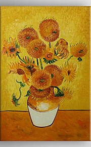 Oil Painting Sun0flower Van.Gogh  Hand Painted Canvas with Stretched Framed